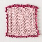 Pastel Lace Washcloth
