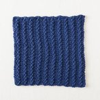 Garter Twist Dishcloth