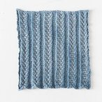 Lacy Columns Facecloth
