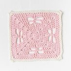 Dragonfly Delight Dishcloth