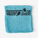 Bird on a Wire Dishcloth