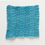 Crochet Rib Dishcloth