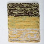 Marled Colorshift Dishcloth