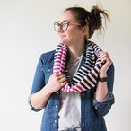 Candy Stripes Scarf