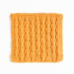 Beaded Ribs Dishcloth