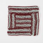 Log Cabin Texturama! Dishcloth