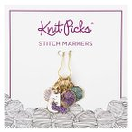 Enamel Stitch Markers - Sparkles the Unicorn