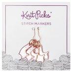 Enamel Stitch Markers - Alpaca Andie