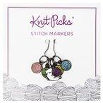 Enamel Stitch Markers - Kitty with Yarn Ball