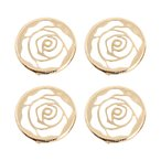 The Hook Nook Decorative Buttons - Gold
