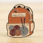 Enamel Pin - Yarn Backpack