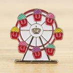 Enamel Pin - Yarn Ferris Wheel