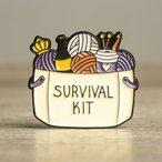 Enamel Pin - Survival Kit
