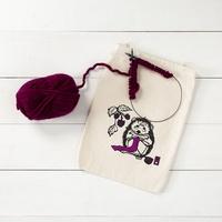 Hedgehog Drawstring Bag   KnitPicks.com