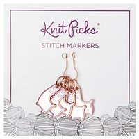 Alpaca Andie Stitch Markers | KnitPicks.com