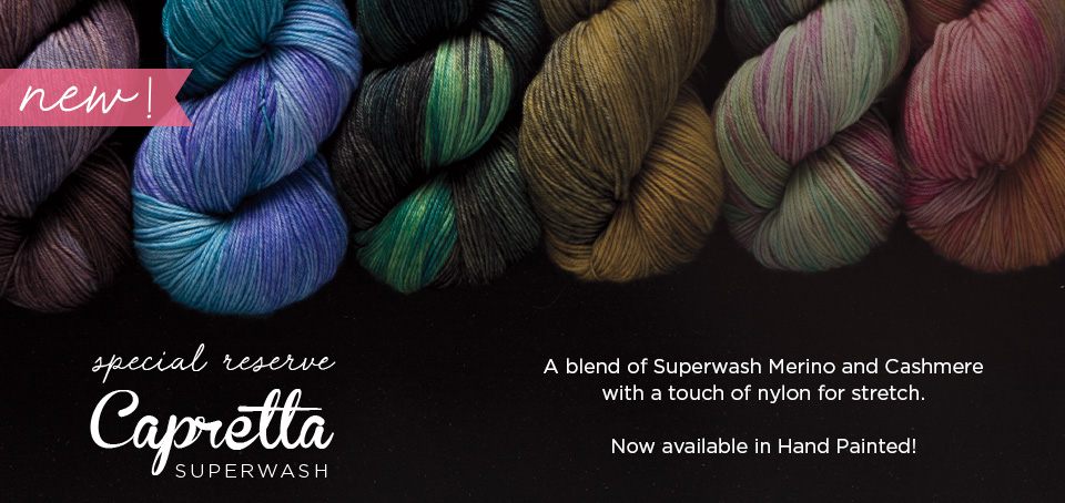 Capretta Hand Painted Yarn