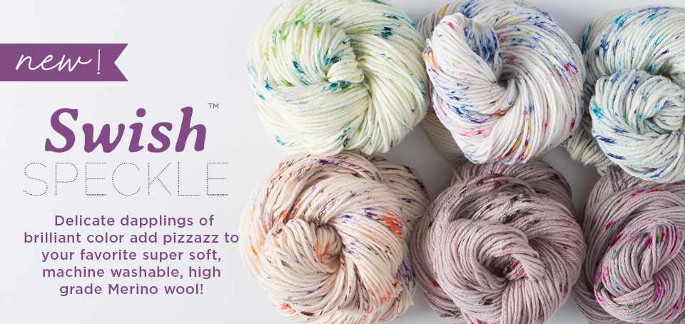 New Swish Yarn - Worsted Speckle Special Reserve