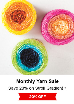 Monthly Yarn Sale - Save 20% on Stroll Gradient Yarns