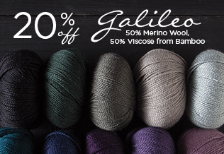 Monthly Yarn Sale - Save 20% on Galileo Yarn