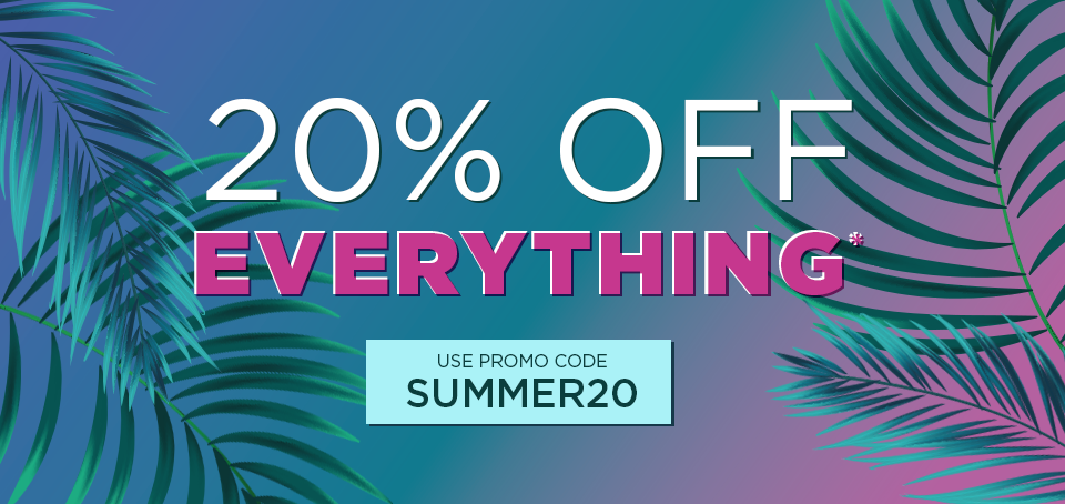 Sitewide Sale - 20% Off Everything*