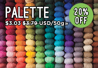 Monthly Yarn Sale - Save 20% on Palette Yarn