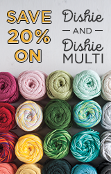 Monthly Yarn Sale - Save 20% off Dishie Yarn