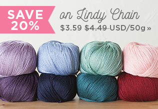 Monthly Yarn Sale - Save 20% on Lindy Chain Yarn