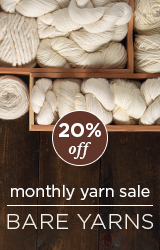Monthly Yarn Sale - Save 20% off Bare Yarn