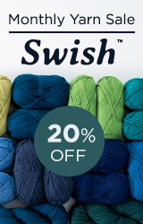 Monthly Yarn Sale - Save 20% off Swish Yarn