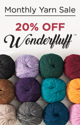 Monthly Yarn Sale - Save 20% off Wonderfluff Yarn