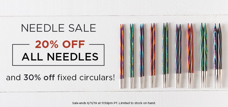 Monthly Needle Sale