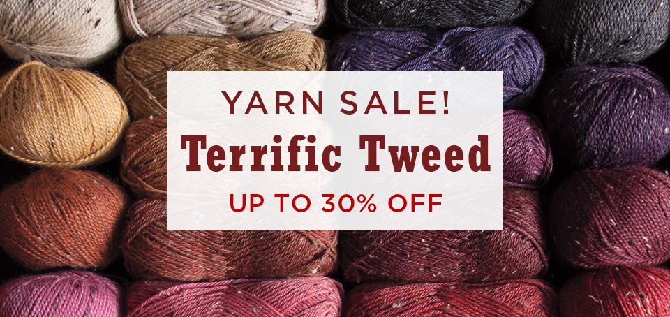 Tweed Yarn Sale!