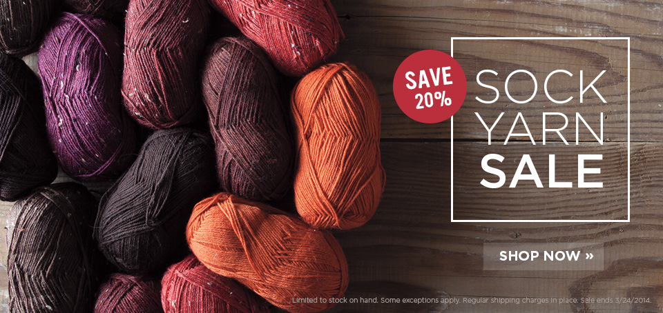Sock Yarn Sale