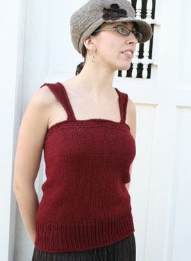 Petticoat Loose Tank Top Pattern