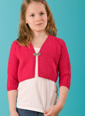 Surfer Girl Shrug Pattern