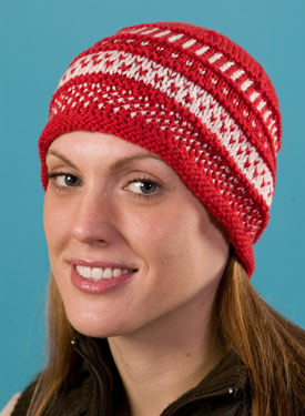 Mosaic Sampler Hat Pattern