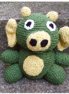 Morris the Dragon Crochet Toy Pattern