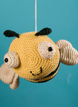 Jonathan the Bee Crochet Toy Pattern