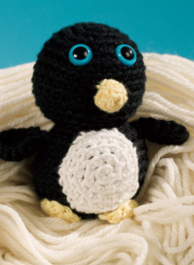 Nobby the Penguin Crochet Toy Pattern