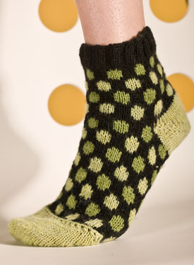 Polka Dot Socks Pattern