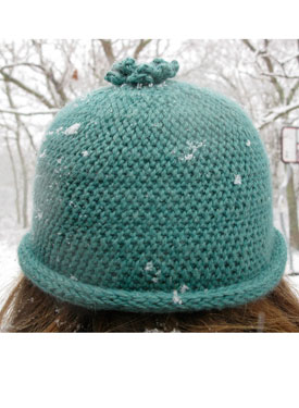Slip Stitch Crochet Hat