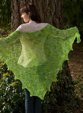 Solaris Lace Crochet Shawl