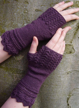 Belladonna Fingerless Mitts
