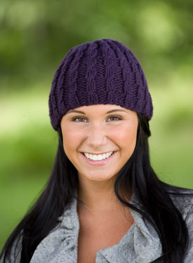 Corinna's Cable Hat