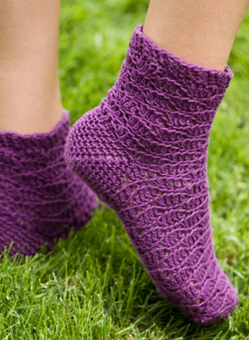 Indigo Dreams Crochet Socks