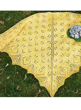 Butterfly Bush Shawl and Shawlette
