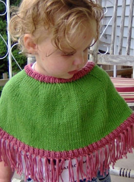 Child's Mini Poncho