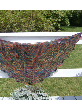 Twin Leaf Shoulder Shawl