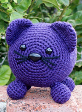 Roly Poly Kitty Crochet Amigurumi