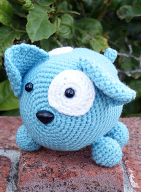 Roly Poly Doggy Crochet Amigurumi